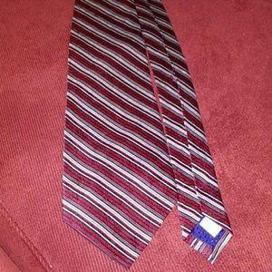 Pierre Cardin Long Silk Tie 186
